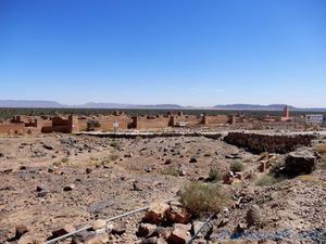 Nationale 9 Zagora -Agdz (Maroc en camping-car)