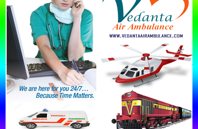 Diarrhoea Critical Patient moved to Delhi via Vedanta Air Ambulance Service in Kolkata