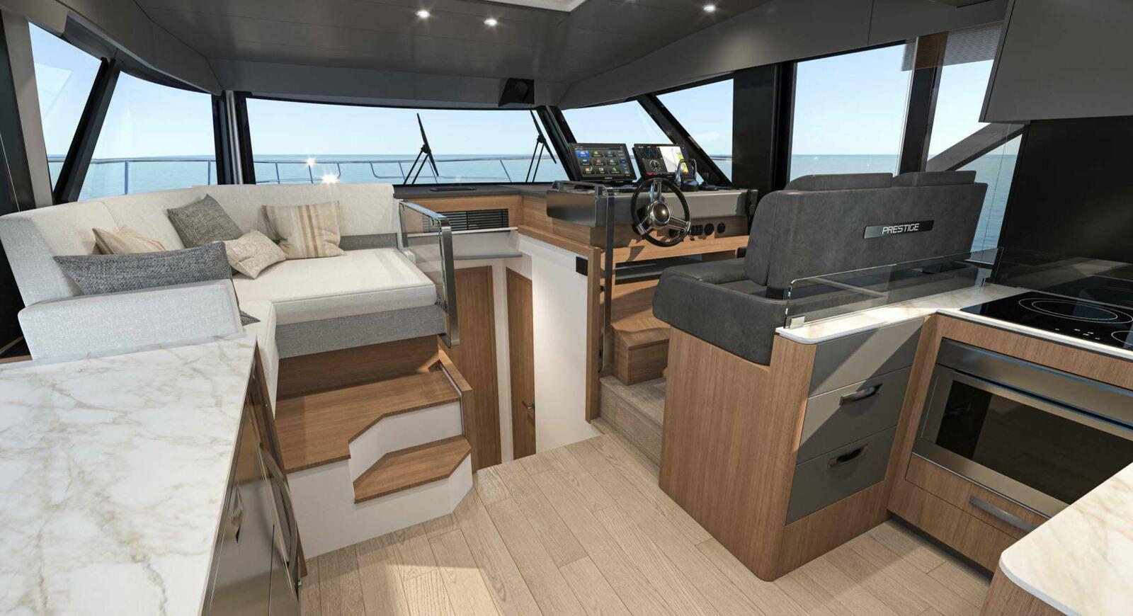 Motoryachting - the Prestige X60 expands the range of Prestige Yachts