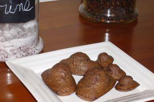 Madeleines chocolat / noix de coco