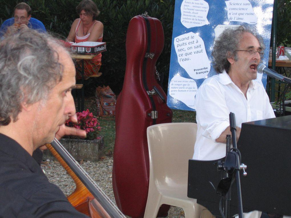 Débat - concert à CHAMPVALLON