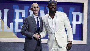 Sans surprise, Zion Williamson est le premier choix des Pelicans de la Nouvelle-Orléans