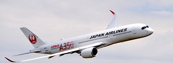 Japan Airlines réceptionne son premier Airbus A350 XWB