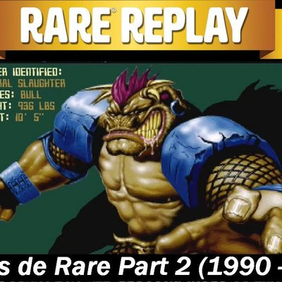 Compilation Rare Replay - 30 Hits de Rare Part 2 (1990 - 1999)