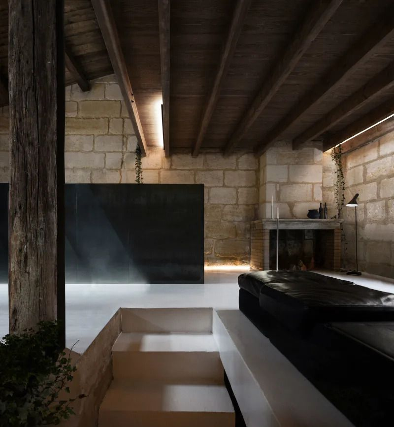 DISCOVER THE 'SACRE COEUR' STONE HOUSE IN BORDEAUX, FRANCE, A REHAB DESIGNED BY THEO COUTANCEAU DOMINI