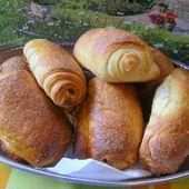 petits pains briochés au chocolat - la cuisine de josette