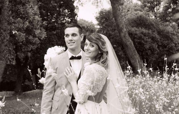 Coup de coeur de la semaine : une robe de mariée sur-mesure par Camille Recolin