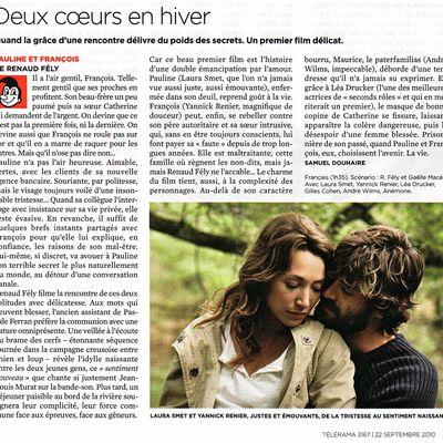 """les dernières critiques de """"Pauline et Francois"""""""