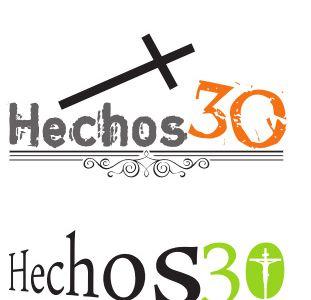 """Diseño de Logotipo Corporativo """"Hechos 30"""""""