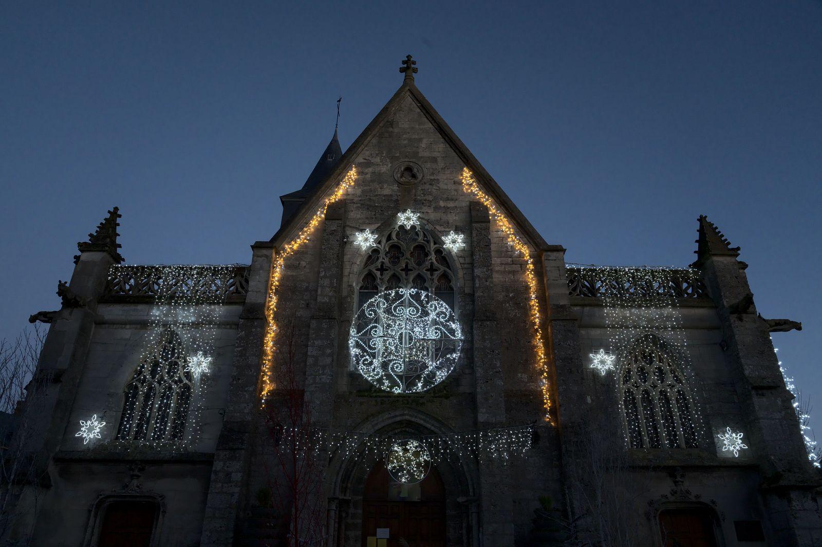 Village illuminé, Noël 2020 en Normandie