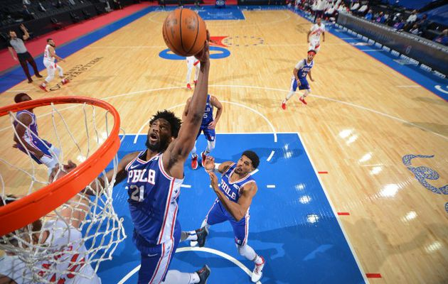 Retour gagnant pour un excellent Joel Embiid face aux Raptors : 29 points, 16 rebonds, 4 passes, 2 blocs et 2 interceptions