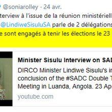Présidentielle en RDC #2 : Le Poker politique entre la SADC et la RDC