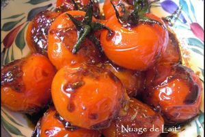 Tomates Miellées Weight-Watchers