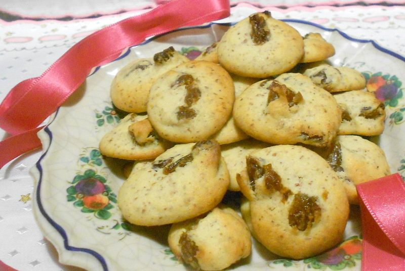 biscuits aux raisins et au whisky