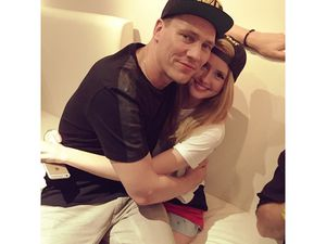 Photos: Tiësto and Annika Backes at Madison Square, New York City - april 04, 2015