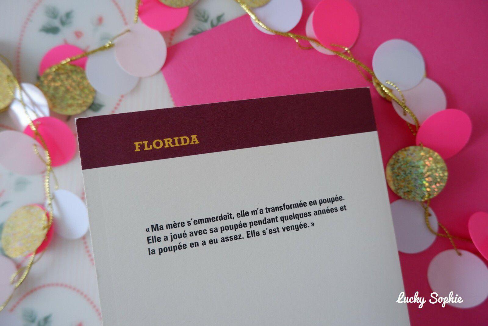 Florida, la dégringolade d'une mini Miss par Olivier Bourdeaut