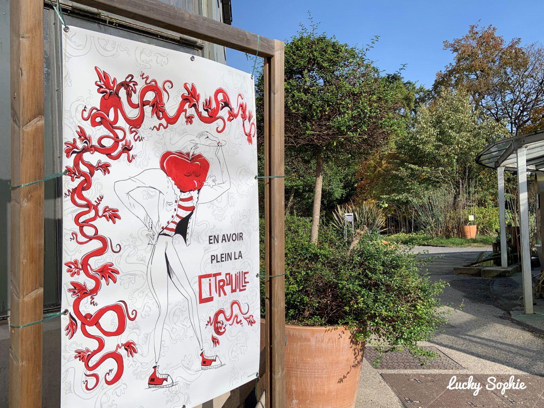 Exposition Courgelesque au Parc de la Tête d'Or à Lyon