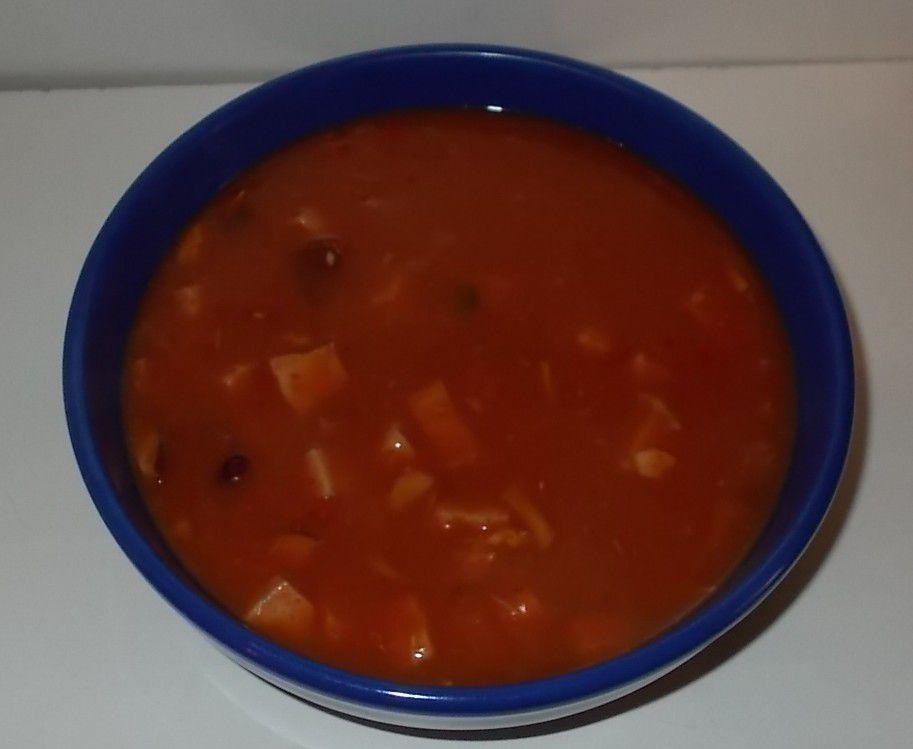 Aldi Pottkieker Feuertopf pikanter Tomateneintopf