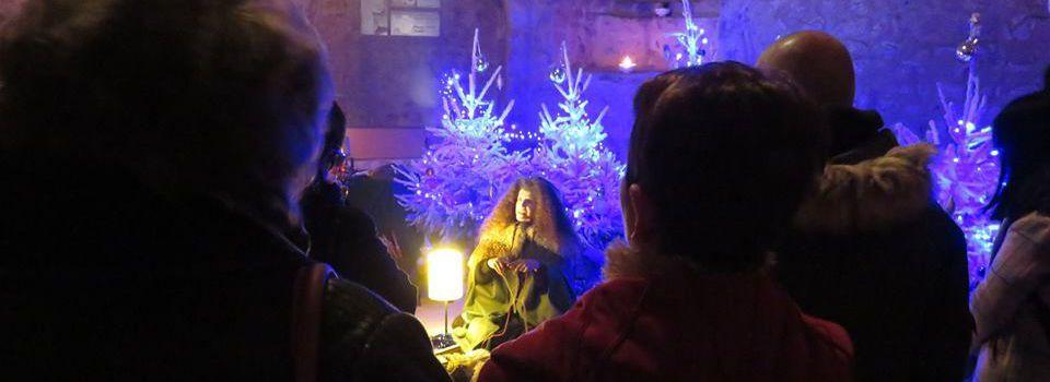 Provins : la magie de Noël au coeur de Provins  dans le Donjon Tour César 16 et  17 /12/17