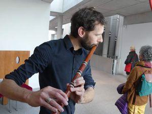 Le musicien Jean-Nicolas Mathieu, le plasticien François Klein et Anne Marion