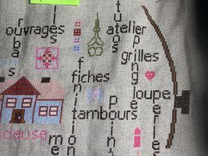 """SAL """"TAMBOUR DE BRODEUSE"""" - Photos de l'objectif 6 - 2ème partie"""