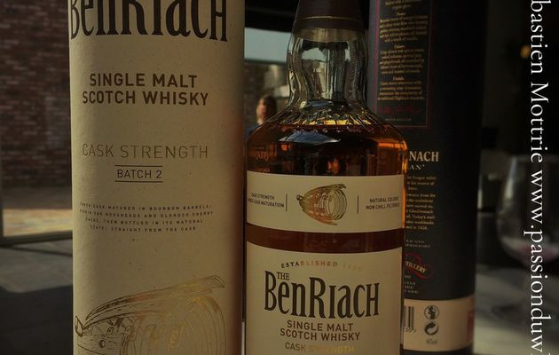 The BenRiach Cask Strength Batch 2