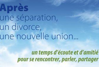 PERSONNES SÉPARÉES, DIVORCÉES OU VIVANT UNE NOUVELLE UNION : RENCONTREZ NOTRE ÉVÊQUE !