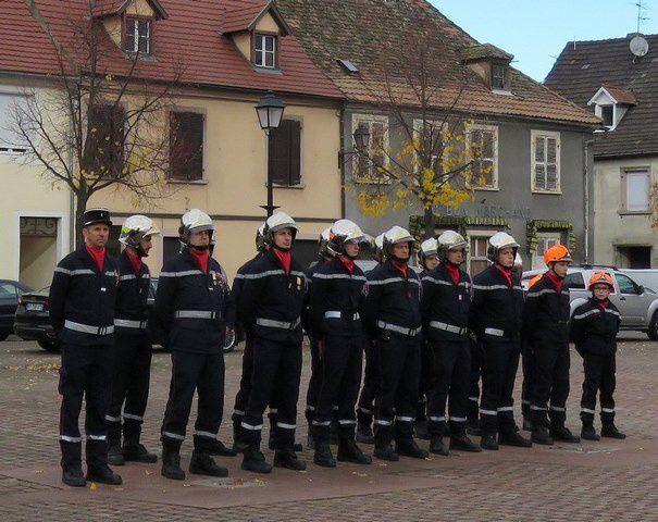 Cérémonie du 11 novembre 2018 à Neuf-Brisach