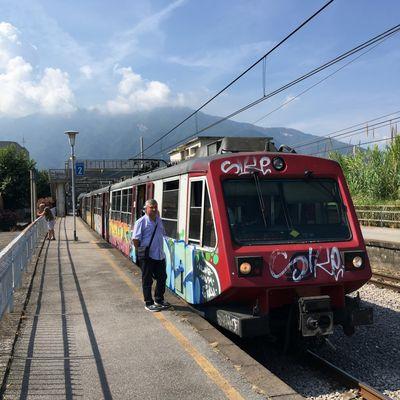 De Naples à Sorrente avec la Circumvesuviana
