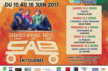 Un taxi panafricain arrive en Guadeloupe : CAB sera en tournée du 10  au 16 juin prochain !