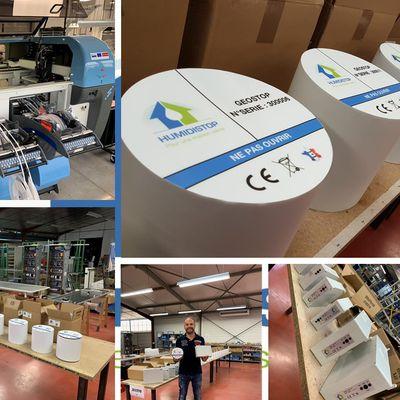 Traitement de l'humidité Solutions anti-humidité  Fabricant Made In France Prix Usine