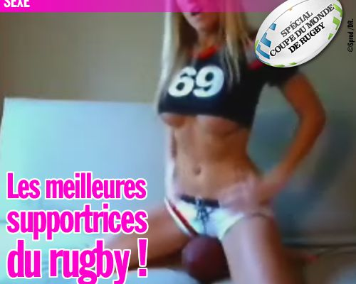 Les meilleures supportrices du rugby !