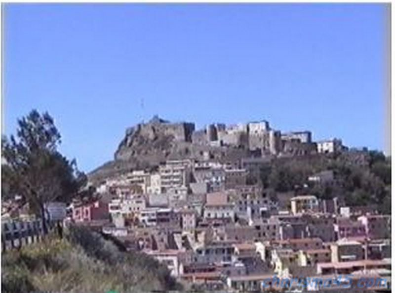 Castelsardo, Sardaigne en camping-car