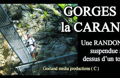 GORGES de la CARANCA ( Pyrénées Orientales ) RANDONNEE PHARE en CATALOGNE