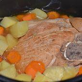 Rouelle porc à la bière recette cookeo |