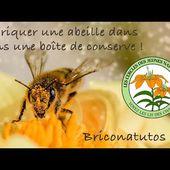 Fabriquer une abeille dans une boîte de conserve ! Briconatutos #3