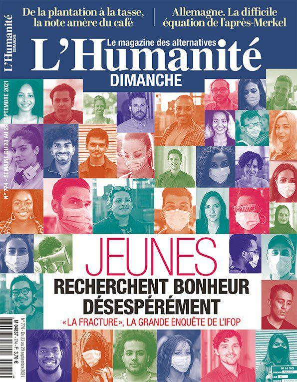 A la une de l'Humanité Dimanche (23-09-21)