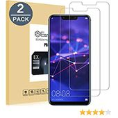 EasyULT Verre Trempé Huawei Mate 20 Lite[2-Pièces], Huawei Mate 20 Lite Vitre Film Protection écran Tempered Glass Screen Protector