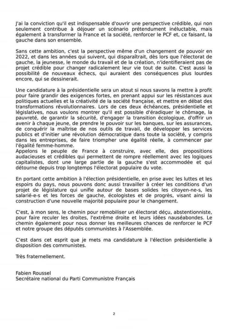 Communiqué de presse du rassemblement de la gauche et des écologistes pour les élections régionales dans les Hauts-de-France