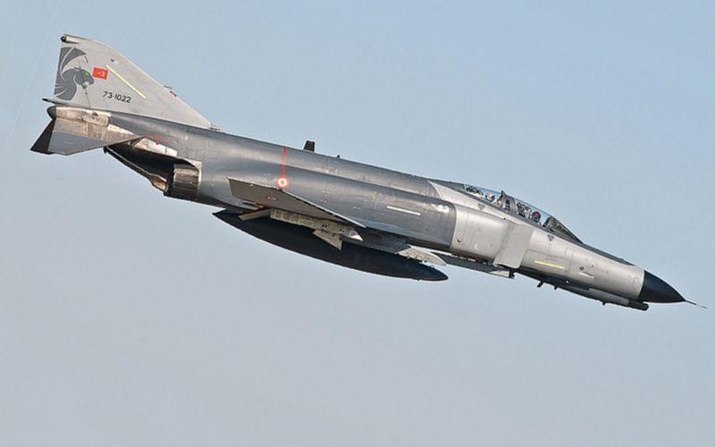 Un troisième F-4E Phantom-2020 de la Force Aérienne Turque s'est écrasé