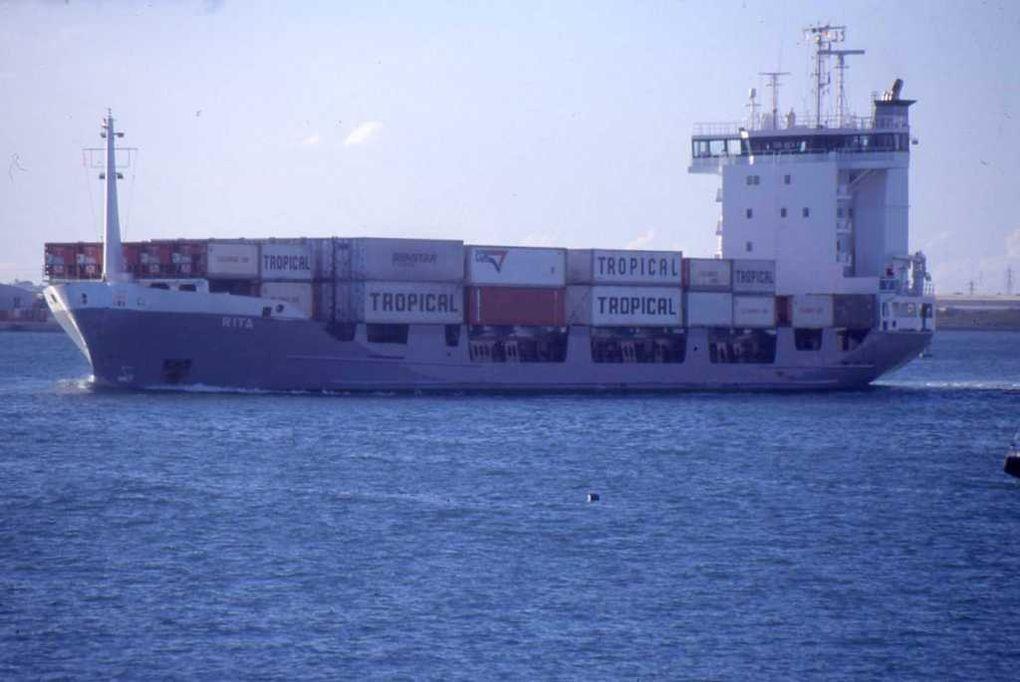RITA , dans le port de Pointe a Pitre en Guadeloupe