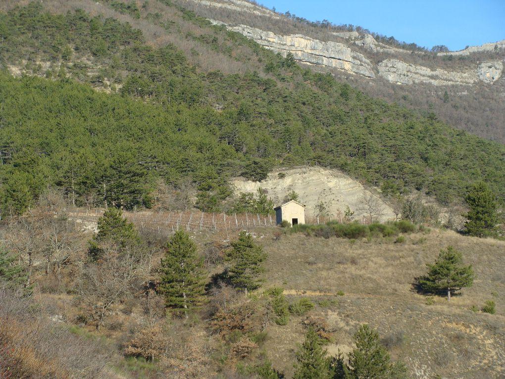 Les ruines du Barry  Vercheny le Haut - Ma Randonnée du mercredi avec le CPC