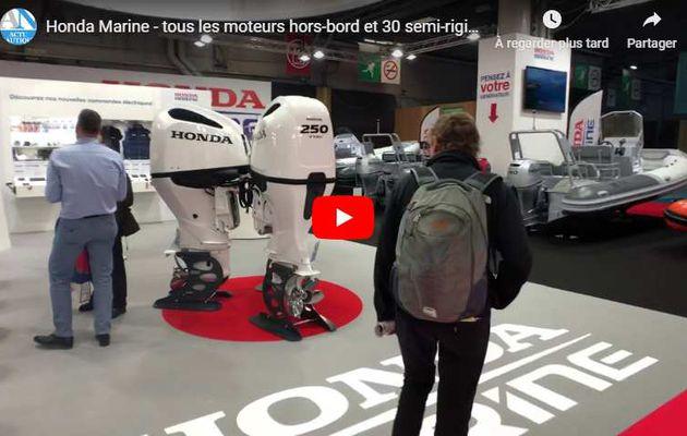 Vidéos Nautic 2019 - Honda Marine, toute la gamme hors-bord et 30 semi-rigides dans le Hall 2.2