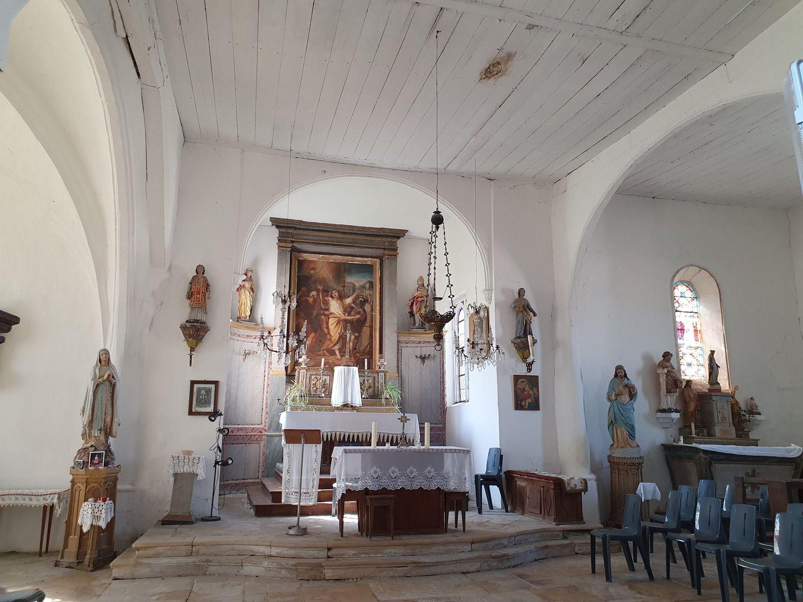 Eglise Saint-Symphorien et fontaine, à Unienville