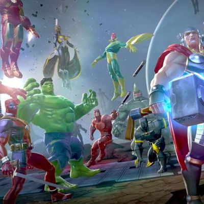 Marvel Contest of Champions; is determined to start out production sometime in 2010