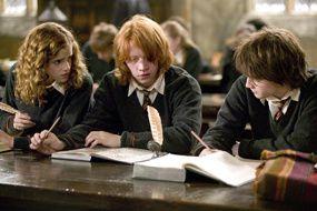 Harry Potter à l'école des sorciers en tête des audiences
