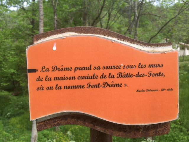La Drôme : de La Bâtie des Fonds à Livron (SL :213 km)