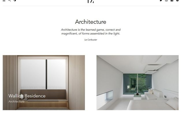Créer un site web minimaliste