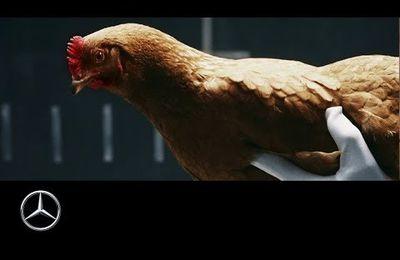 Pub d'autrefois : 2013, « Chicken » MAGIC BODY CONTROL Mercedes-Benz