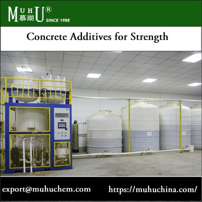 Purchase Concrete Additives for Strength in Cement Mixture | MUHU